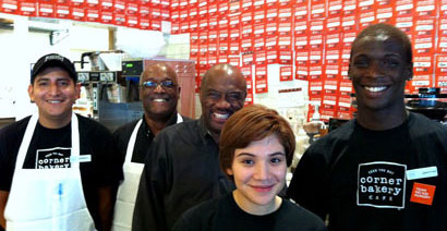 Corner Bakery Cafe Team Photo