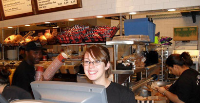 Corner Bakery Cafe Cashier Photo